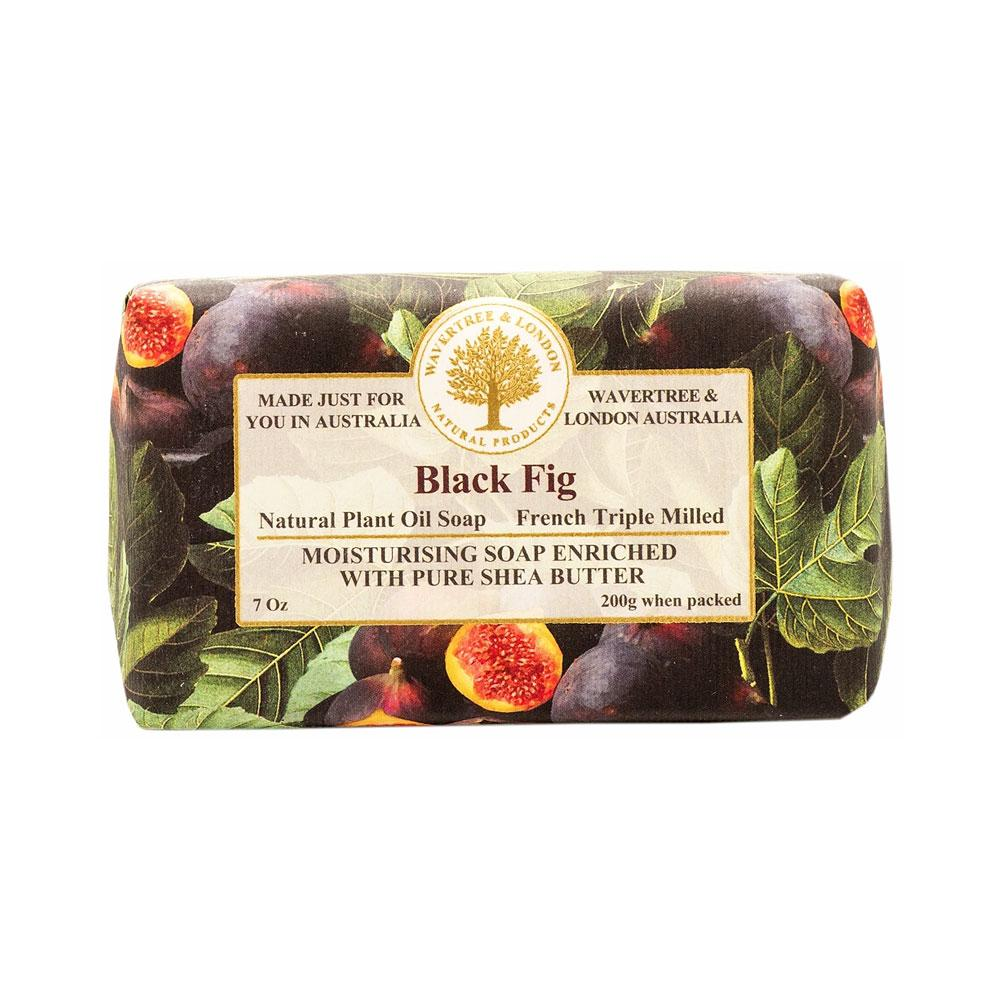 Wavetree & London Australia Black Fig Bar Soap