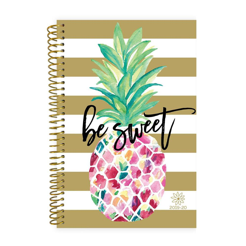 Bloom 2020 Pineapple Spiral Daily Planner