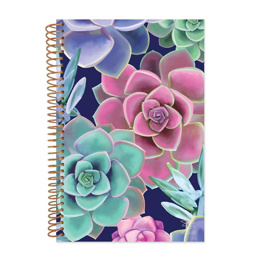 Bloom 2020 Succulents Spiral Daily Planner