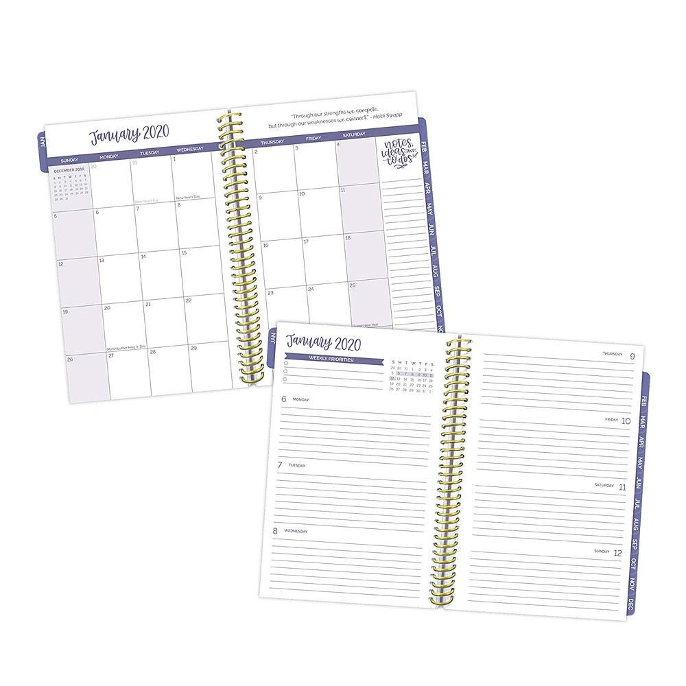 Bloom 2020 Succulents Daily Planner Pages