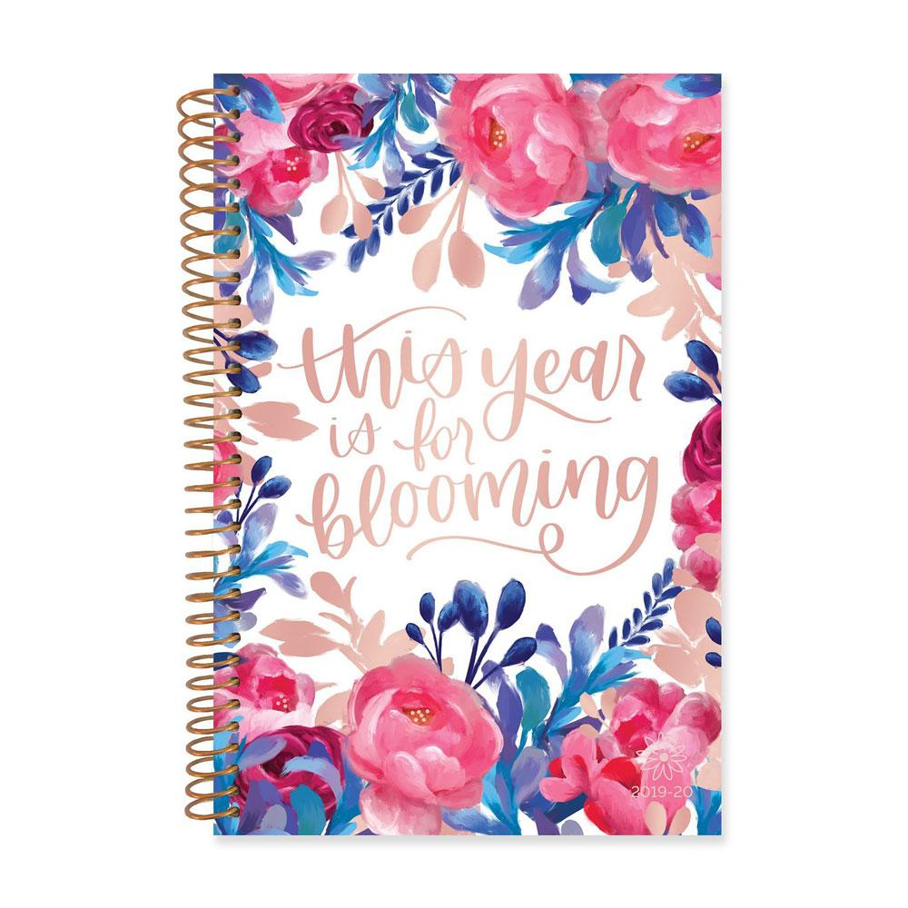 Bloom 2020 This Year Is For Blooming Spiral Daily Planner