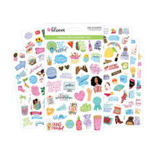 Bloom Girl Power Stickers 6 Count