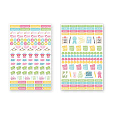 Bloom Productivity Planner Stickers 6 Count