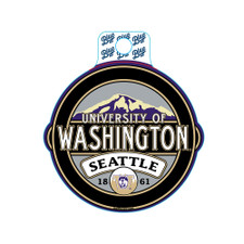 Blue 84 U of W Vault Dog Seattle Carson Sticker