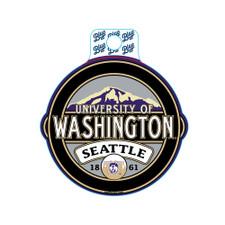 Blue 84 U of W Vault Dog Seattle Carson Sticker