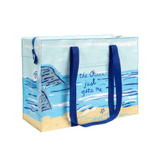 Blue Q Ocean Gets Me Shoulder Tote