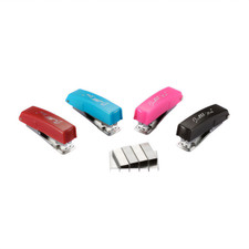 Bostitch Assorted Mini #10 Stapler and 1000 Pack Staples