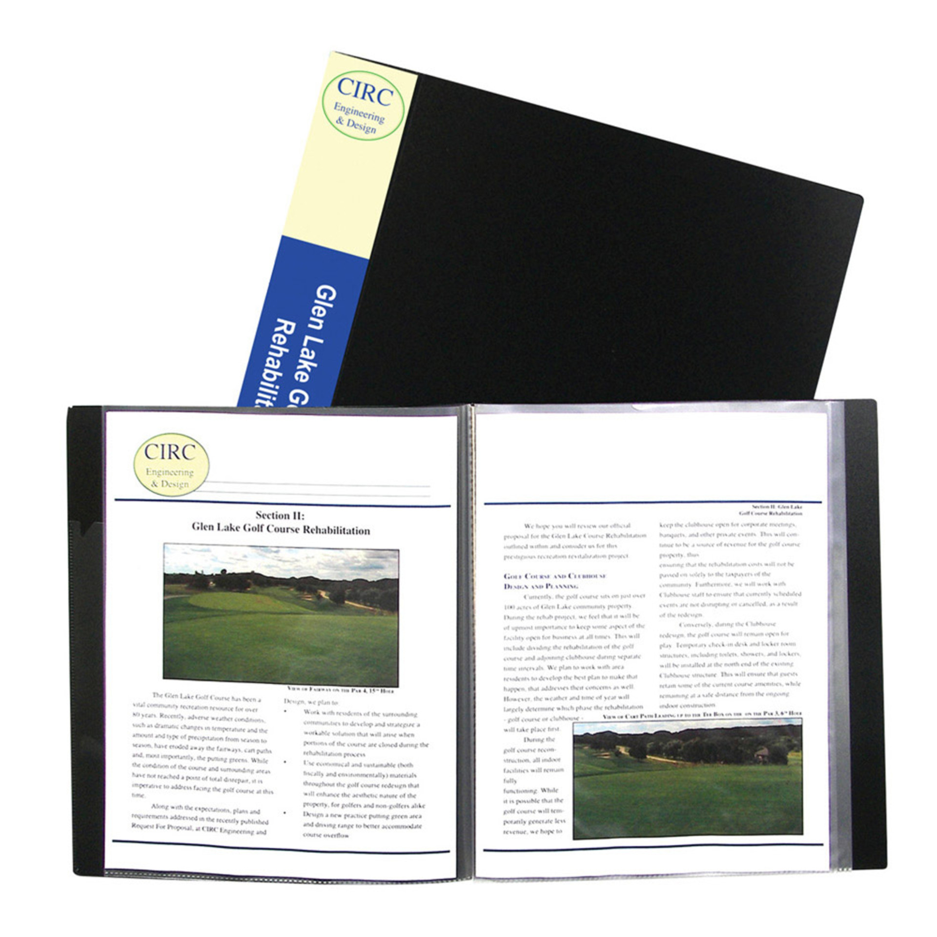 "C-Line Presentation Book 8.5""x11"" Sheets"