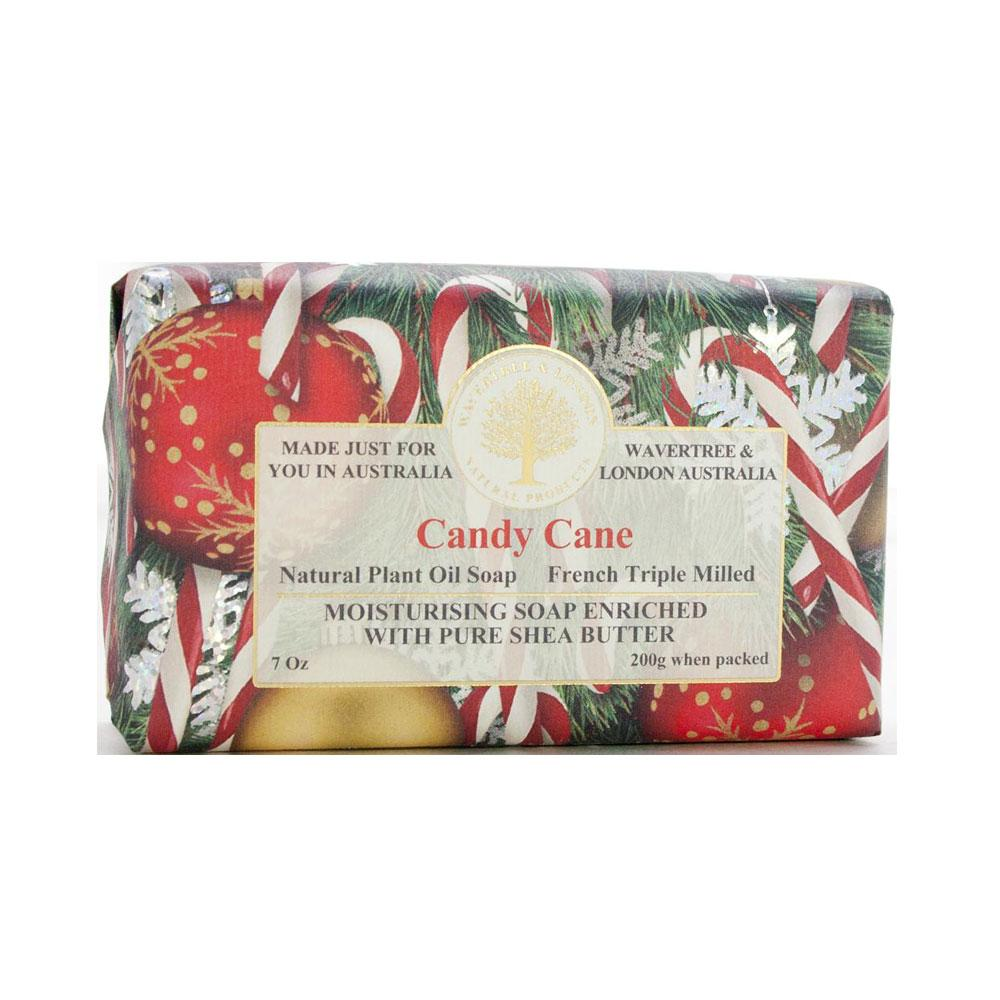 Wavetree & London Australia Candy Cane Bar Soap