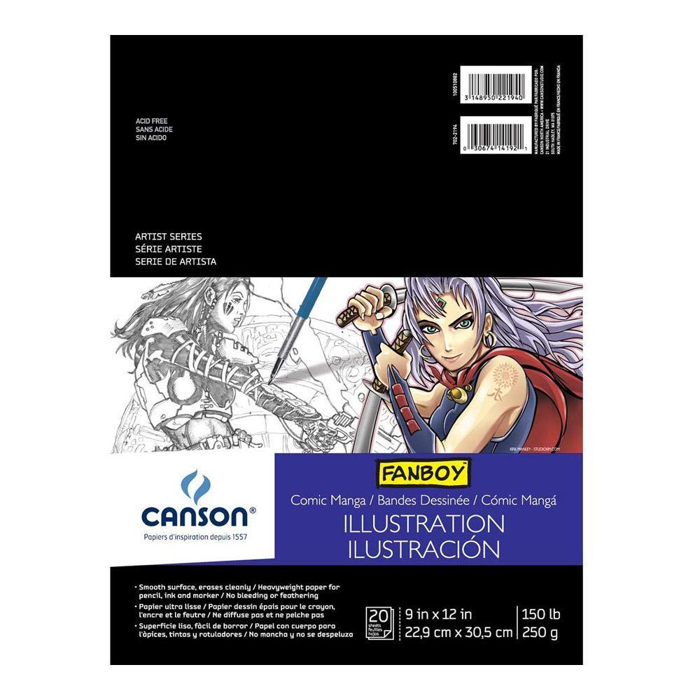 "Canson Fanboy Manga Drawing Paper 9""x12"""
