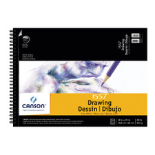 "Canson Pure White Drawing Pad 18""x24"""