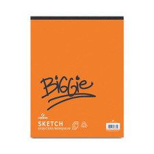 "Canson Biggie Sketch Pad 125 Sheet 9""x12"""