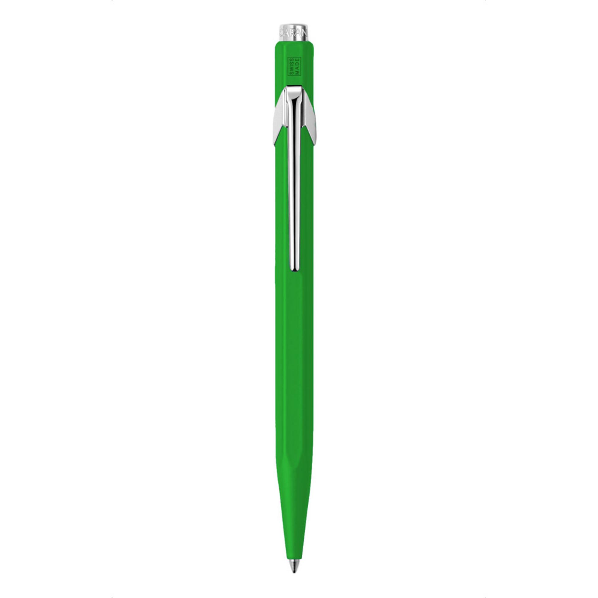 Caran D'ache Metal-X Ballpoint Pen Green