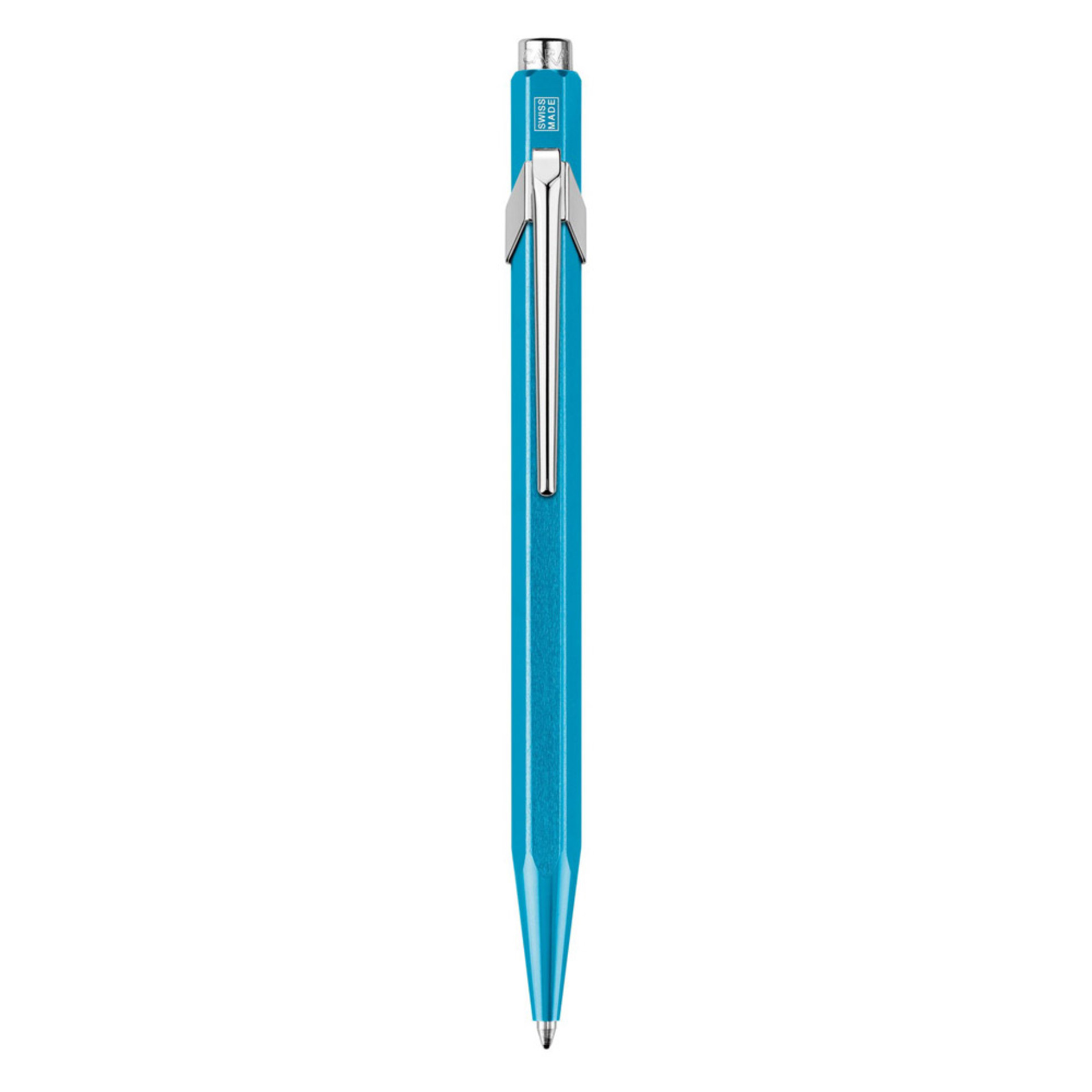 Caran D'ache Metal-X Ballpoint Pen Turquoise