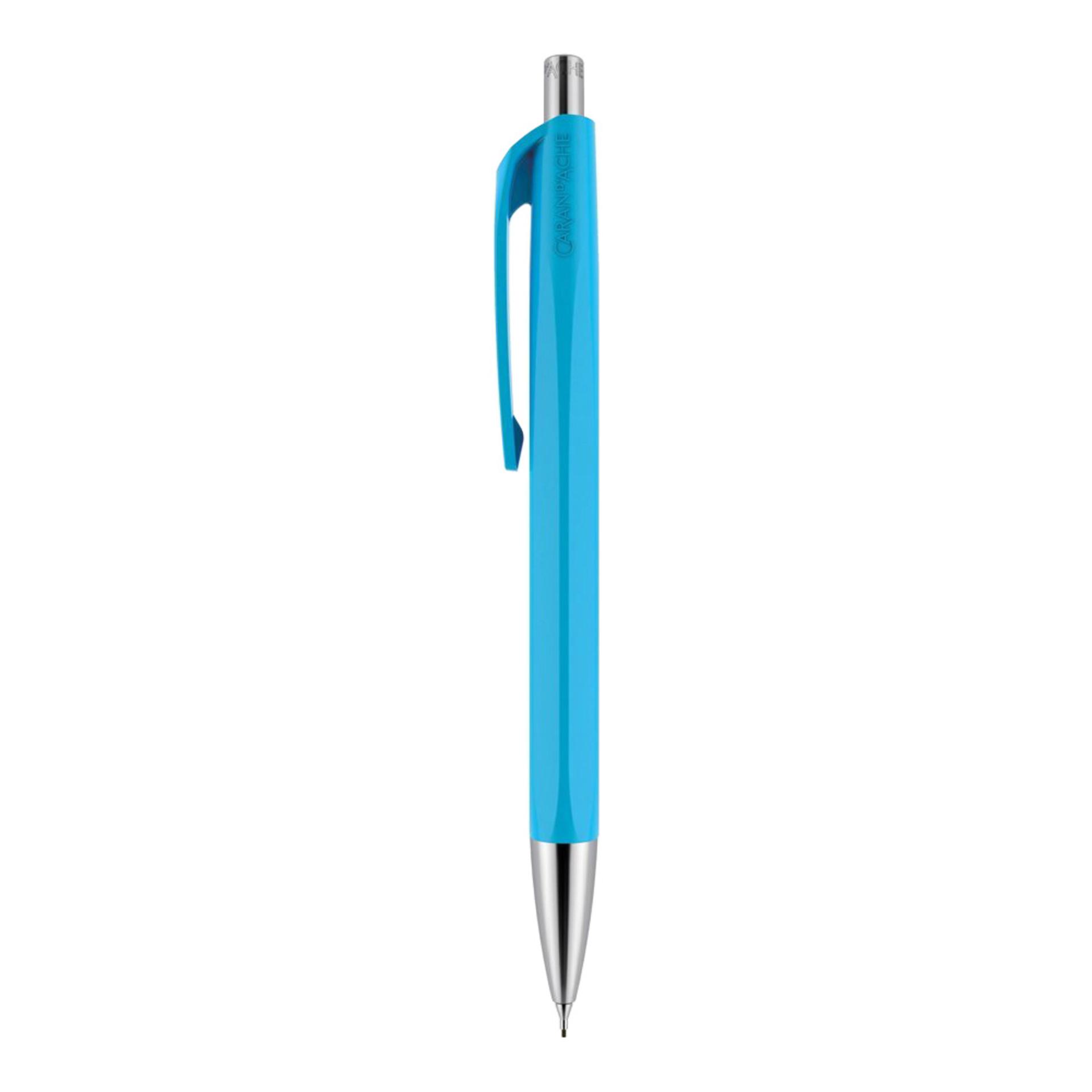 Caran d'Ache 888 .7mm Infinite Mechanical Pencil Turquoise