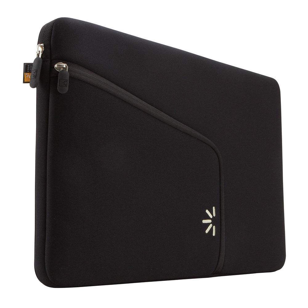 "Case Logic Black Neoprene w/Pocket 14"" Sleeve"