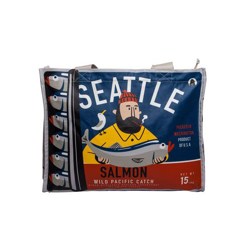 Chalo Seattle Salmon Can Wide Bag