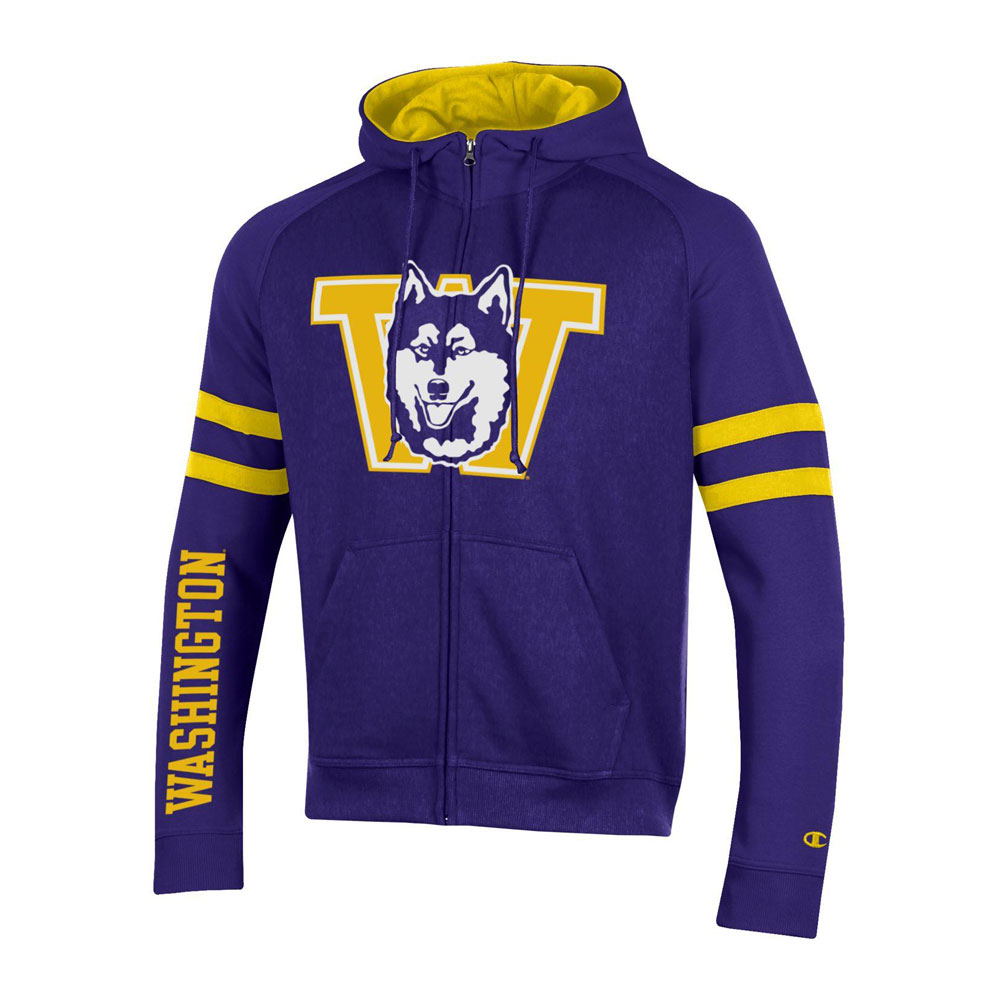 Champion Men's Vault Dog W Super Fan Full-zip Hoodie