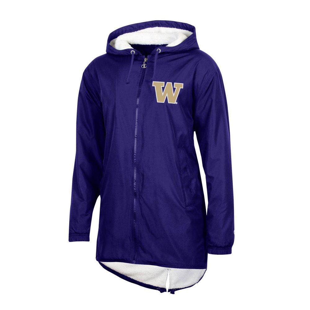 Champion Women's W Ultimate Stadium Jacket – Purple – Front
