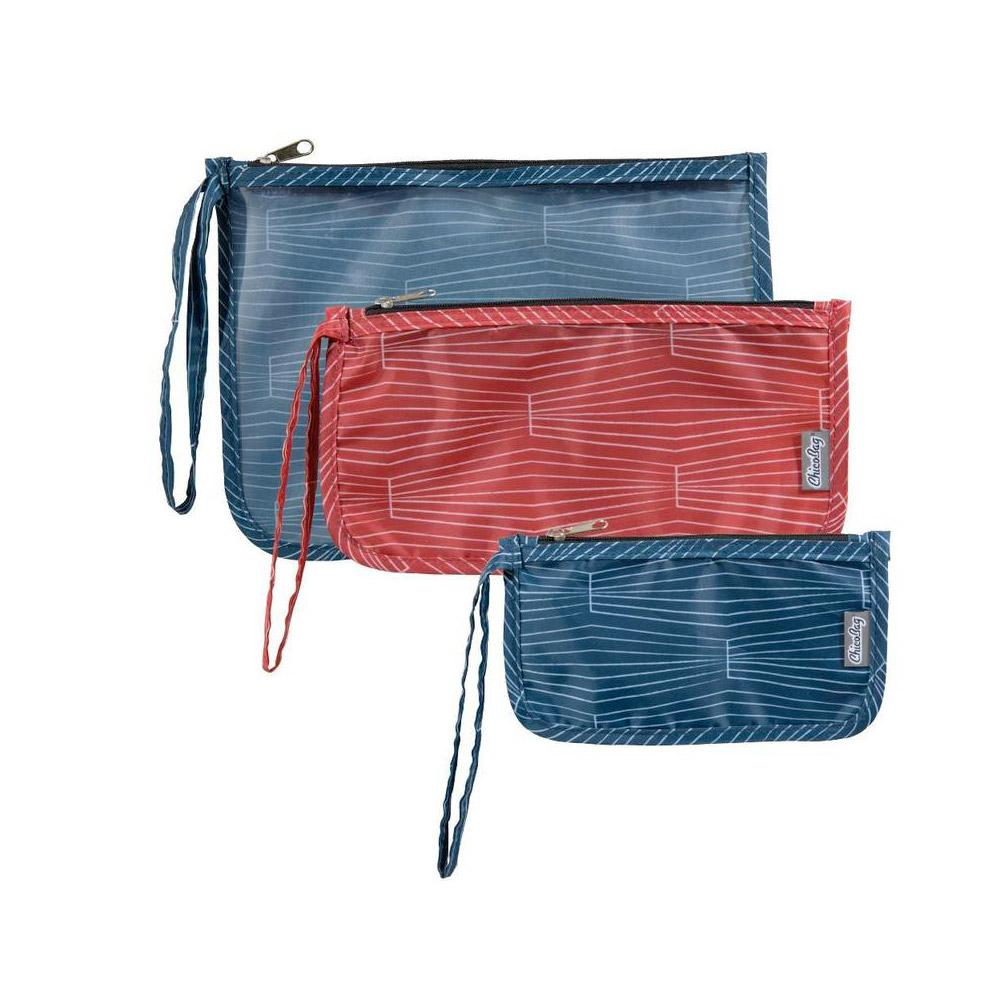 ChicoBag Travel Zip Bags Cobalt Front