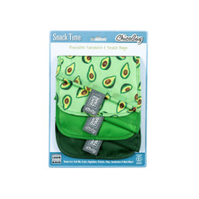 ChicoBag Snack Time Reusable Sandwich Snack Bags 3ct – Avocado