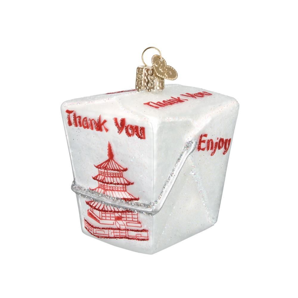 Chinese Takeout Ornament