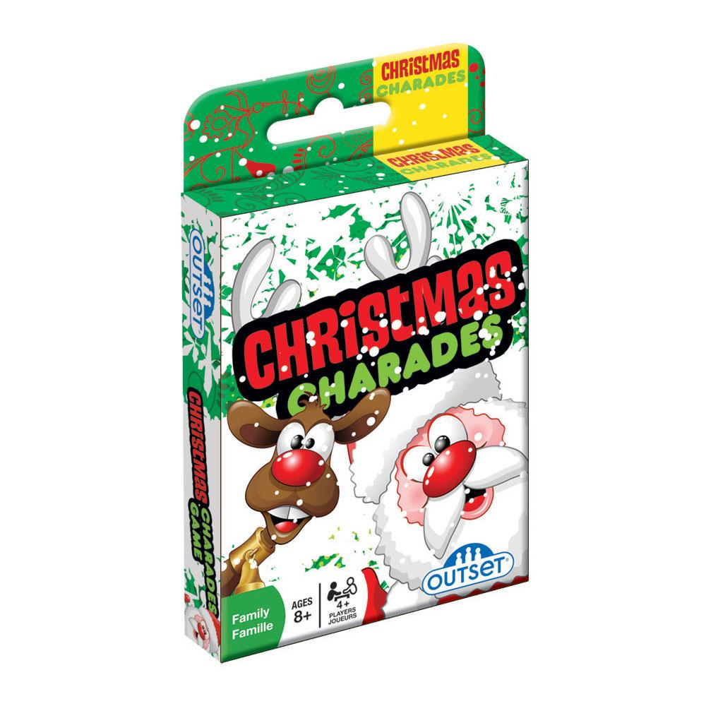 Christmas Charades Card Game by Outset Media