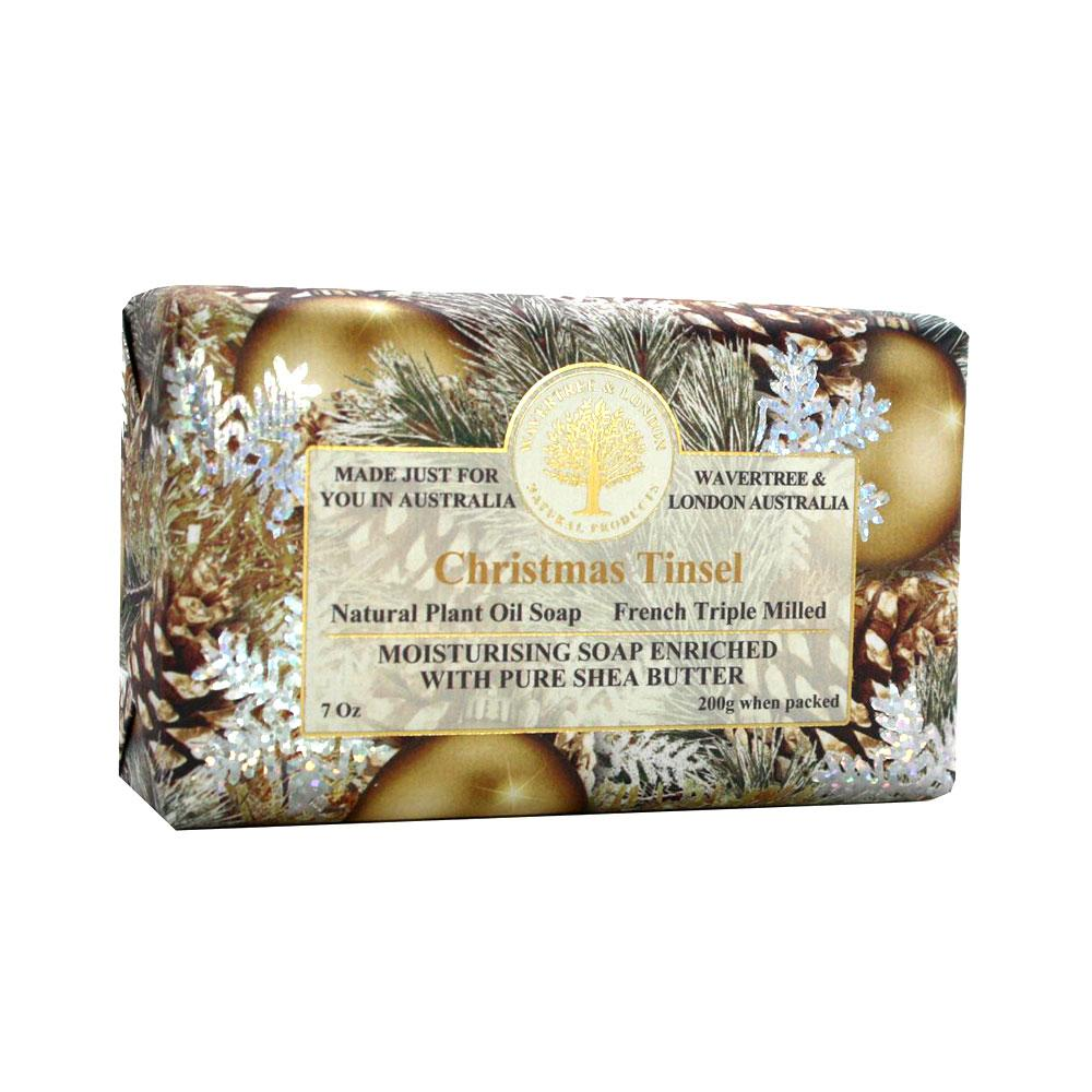 Wavetree & London Australia Christmas Tinsel Bar Soap