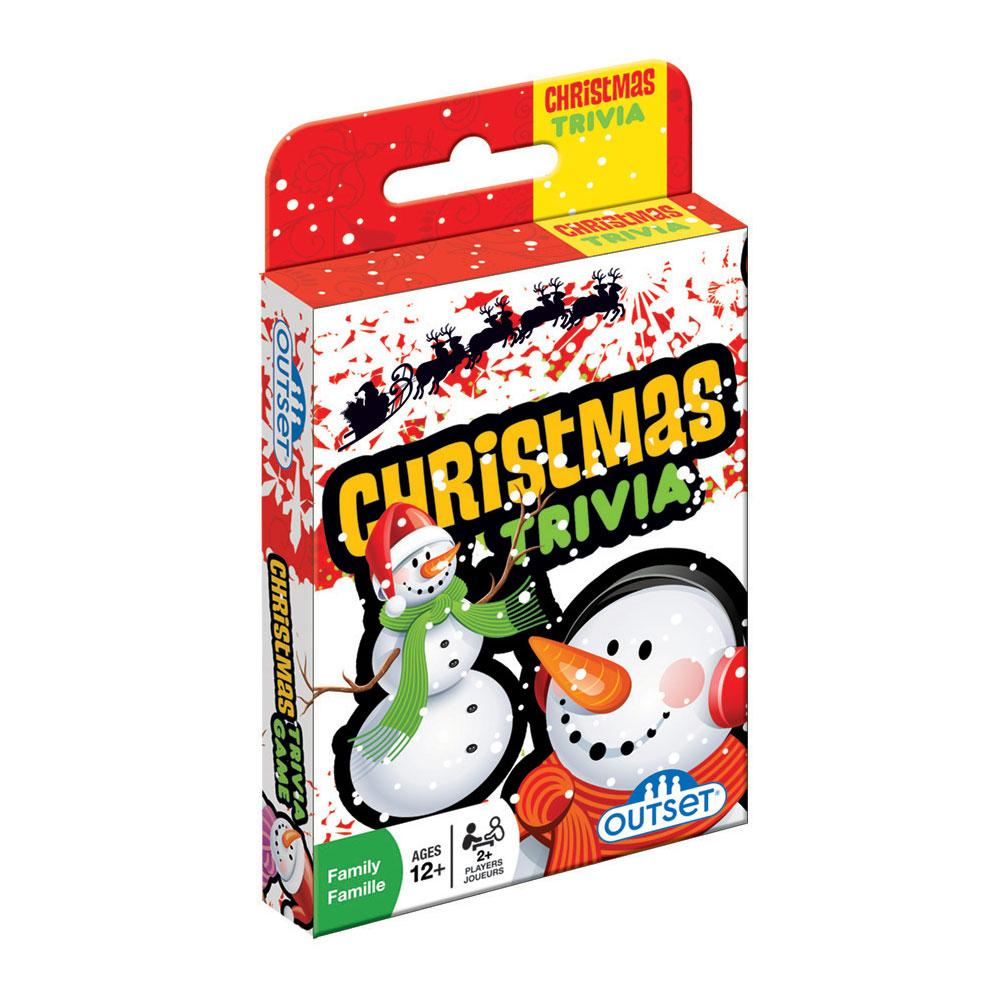 Christmas Trivia Card Game by Outset Media