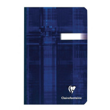 """ClaireFontaine 6""""x8"""" Ruled Notebook With Margin Cloth 96ct"""