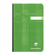 """Clairefontaine 4.25""""x 6.75"""" Ruled Clothbound Notebook"""