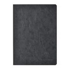 "Clairefontaine Basics 6""x8"" Ruled Elastic Closure Black Notebook"