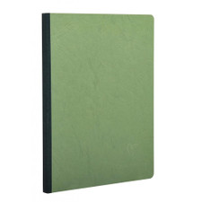 "Clairefontaine Green Basics 8""x11"" Ruled Stapled Notebook"