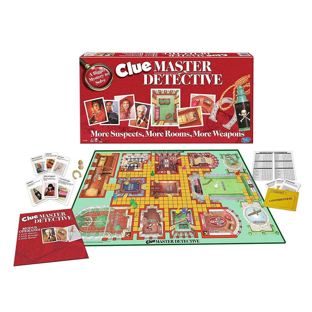Clue Master Detective Murder Mystery Game