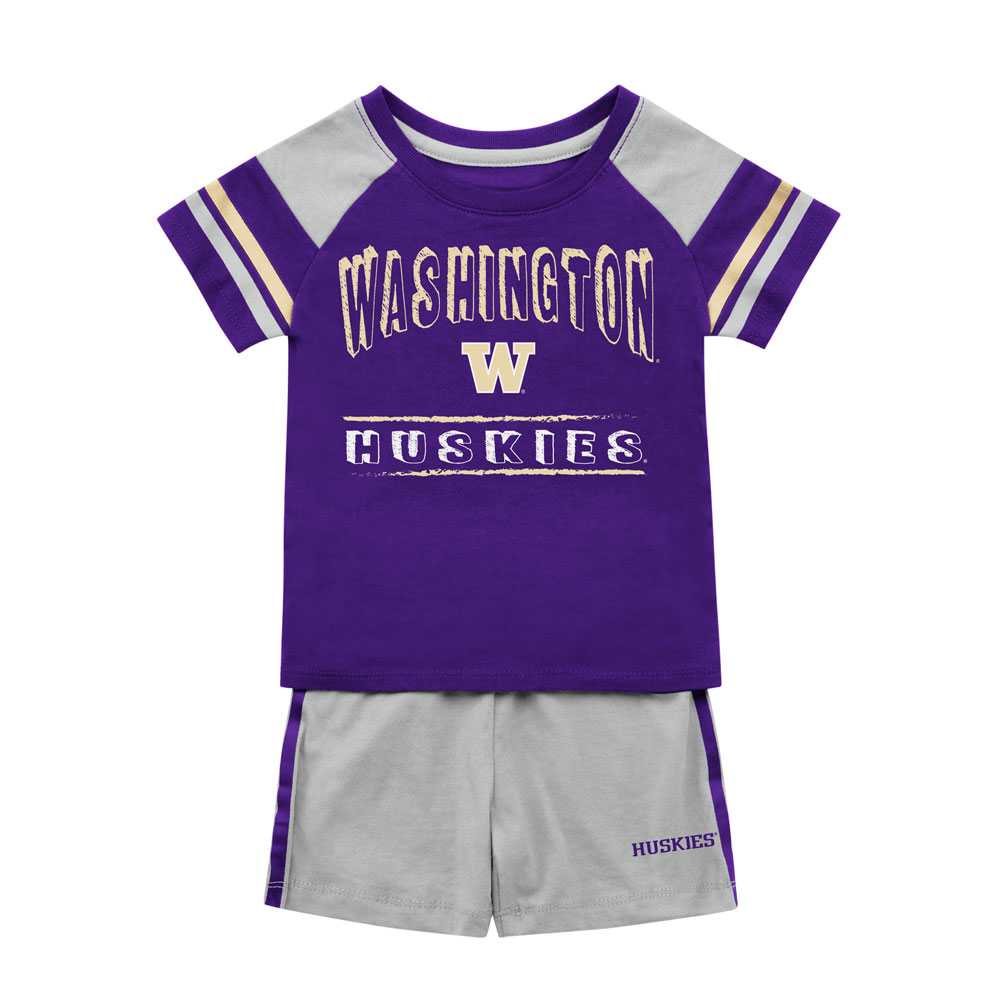 Colosseum Baby Washington W Infact Tee and Short Set