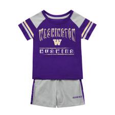 Colosseum Baby Washington W Infact Tee and Short Set