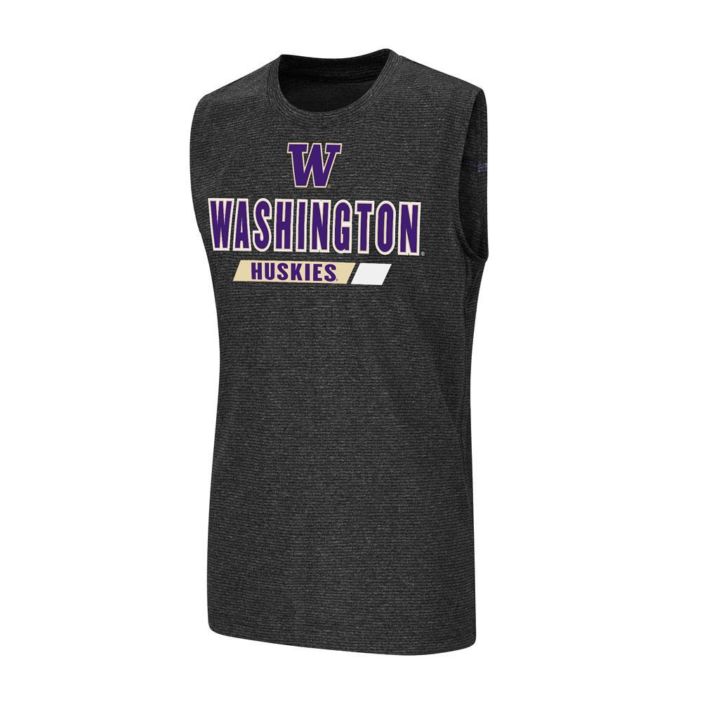 Colosseum Boys' W Washington Huskies Tank – Front
