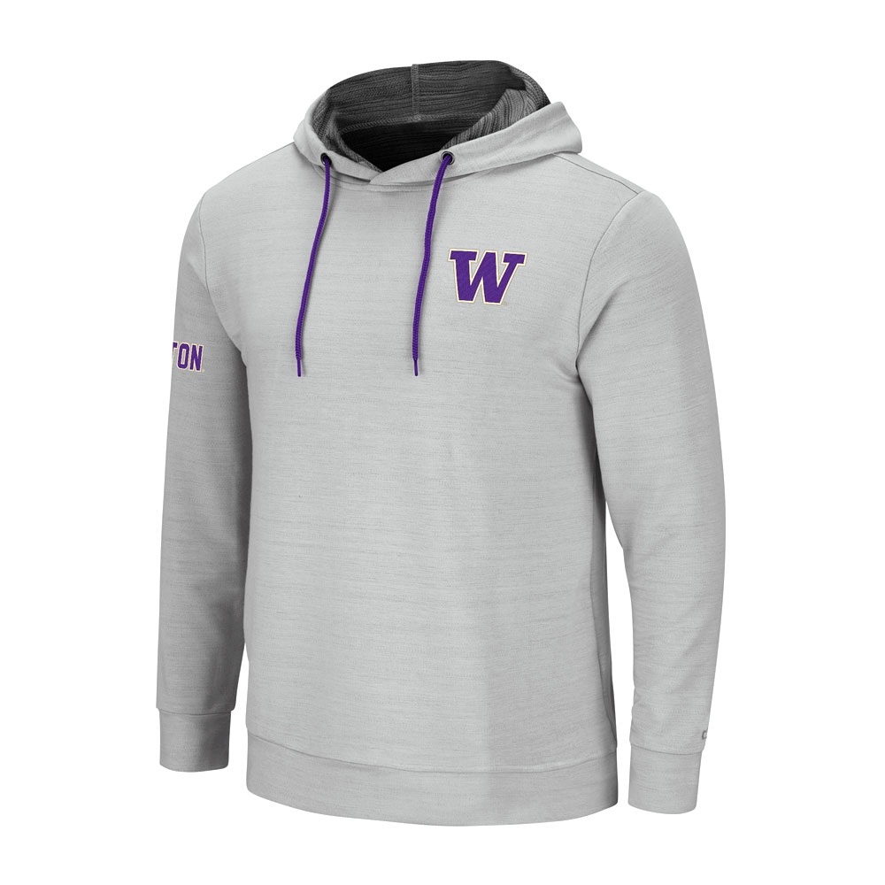 Colosseum Men's W Applique Stake Out Hoodie