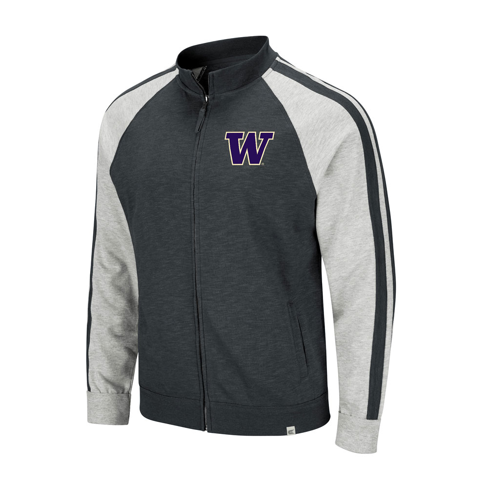 Colosseum Men's W Washington Applique Full-zip – Front