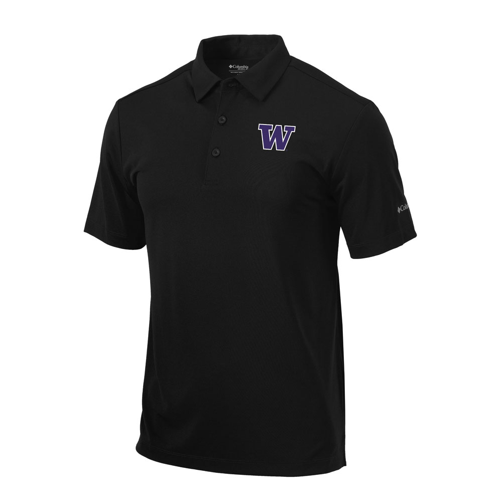 Columbia Golf Men's W Omni-Wick Drive Polo – Black
