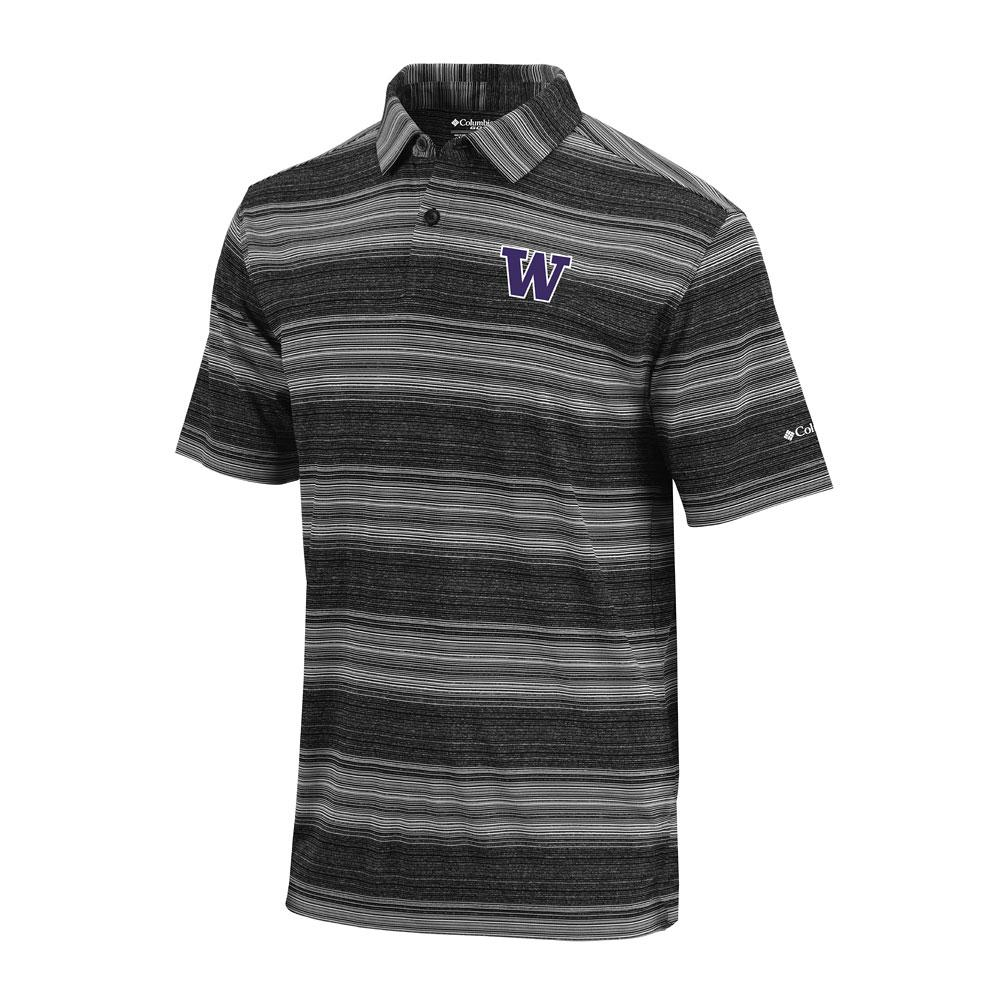 Columbia Golf Men's W Omni-Wick Slide Polo – Black