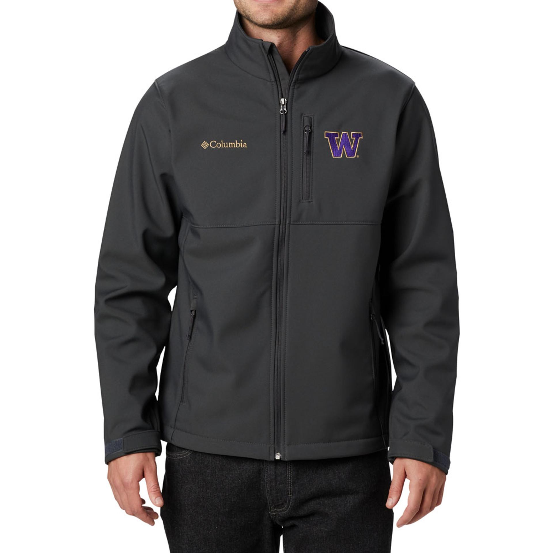 Columbia Men's W Ascender Softshell Jacket – Black