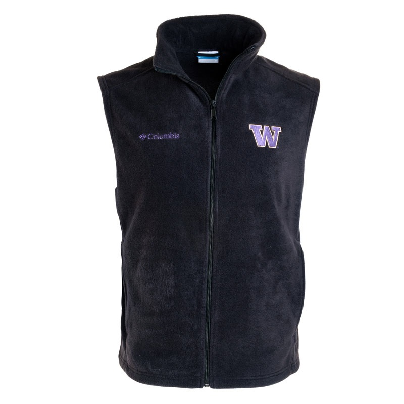 Columbia Men's W Flanker Full-zip Fleece Vest