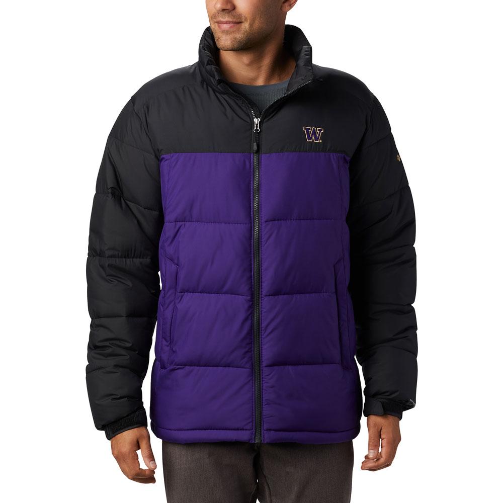 Columbia Men's W Pike Lake Omni-Heat Jacket – Purple