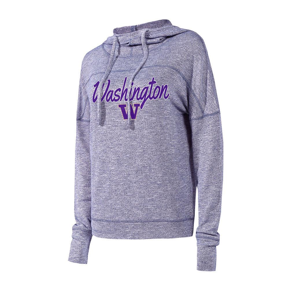 Concepts Sports Women's Washington Marble Long Sleeve Hoodie