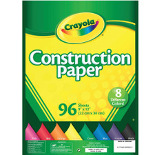 "Crayola Construction Paper 9""x12"" 96 Pack"