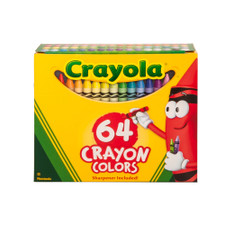 Crayola Crayons With Sharpener 64 Set