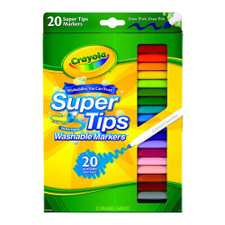 Crayola Super Tips Marker Set 20 piece