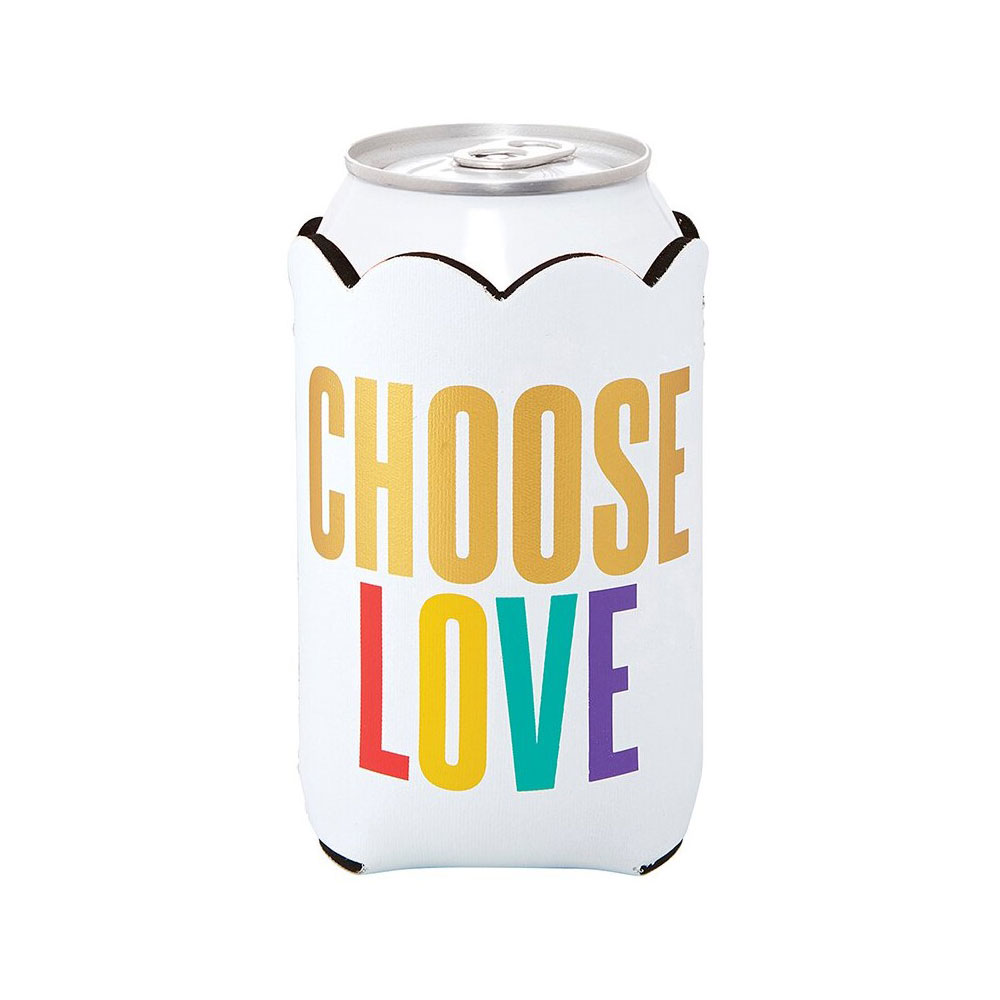 Creative Brands Choose Love Insulated Can Cover