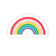 Creative Brands Rainbow Shaped Napkins 16ct